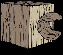 PLA-Holz