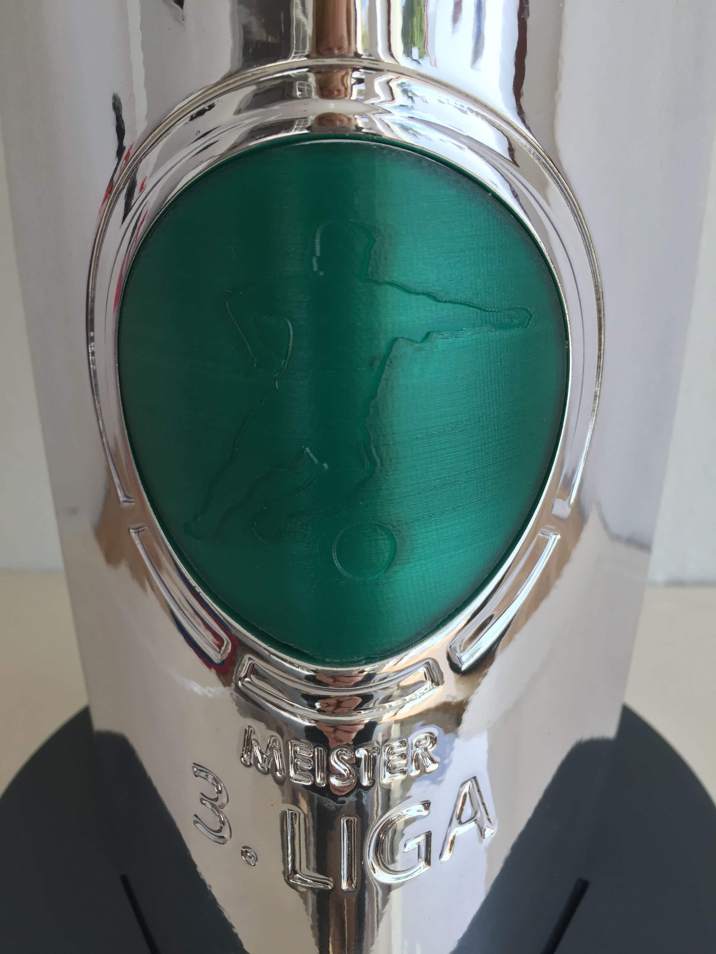 3D gedruckter Fußball Pokal