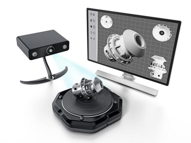 3D Scan technischer Bauteile