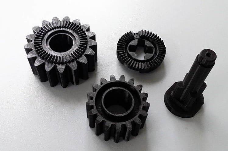 3D gedruckte Ersatzteile